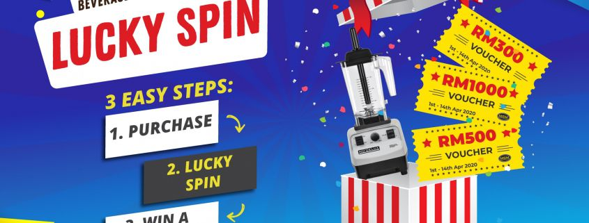 Msm Beverage Cooler Promotion Lucky Spin MCO